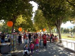 09.09.18 La compagnie participe à VIVACITÉ, festival des associations de Marseille, au Parc Borély