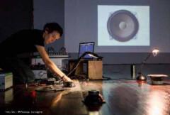 10.11.17 19h Expérimentations sonores et visuelles : Pôm Bouvier B., L'épaisseur de l'Instant