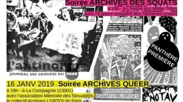 16.01.19 19h Lecture Archives Queer – PANTHÈRE PREMIÈRE