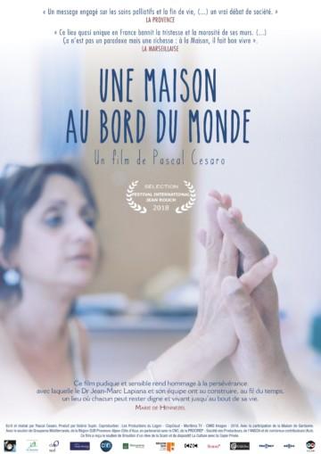 5.04.19 projection at FRAC of « Une maison au bord du monde » of Pascal Cesaro