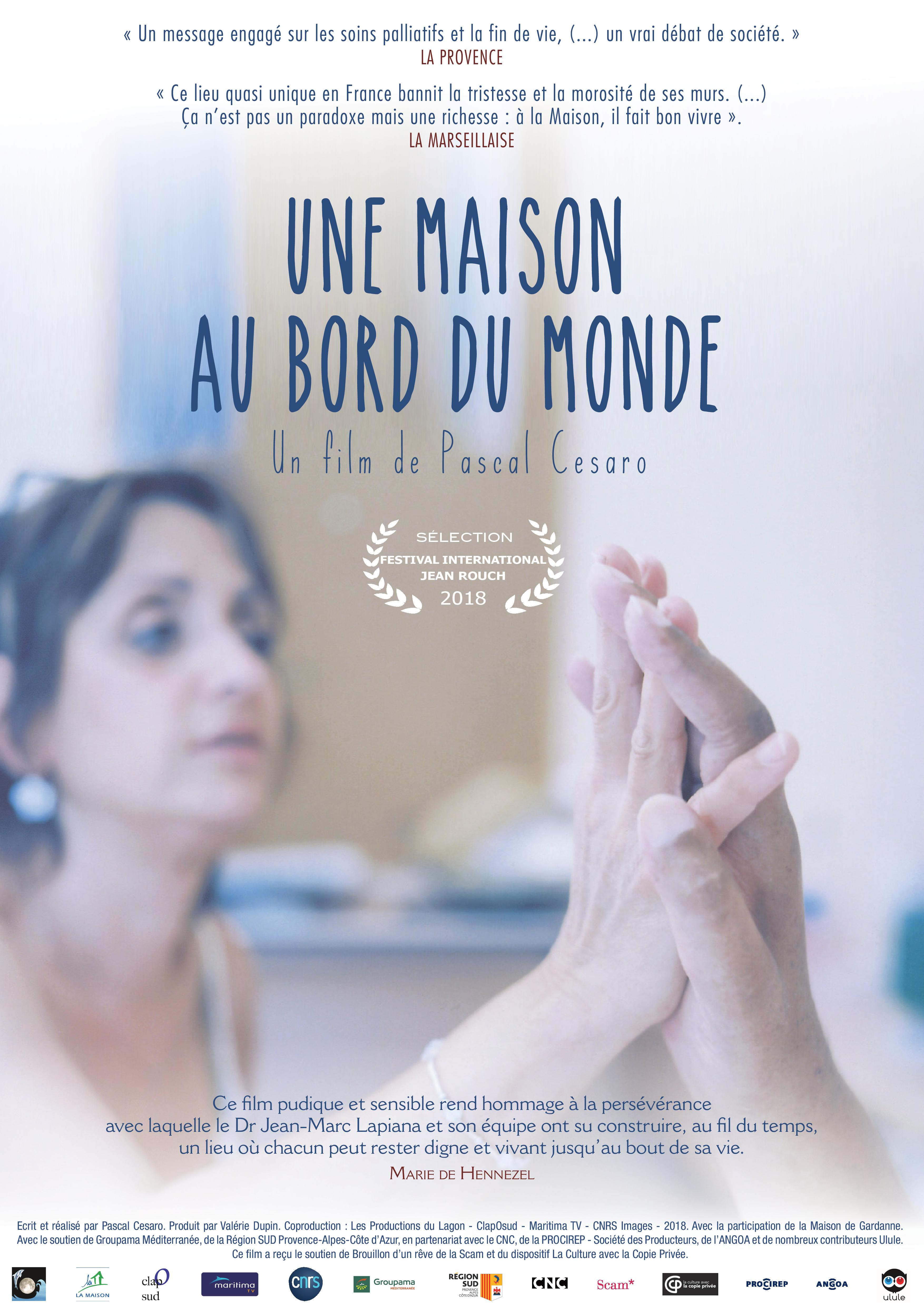 5.04.19 projection at FRAC of « Une maison au bord du monde » of Pascal Cesaro