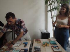 22.06.19 à 15h Portes ouvertes autour de l'exposition 143 rue du désert et lectures de livres mangeables