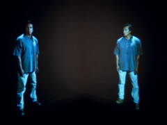 15.09.2021-02.10.2021 Gary Hill, Standing Apart/Facing Faces, installations avec Martin Cothren